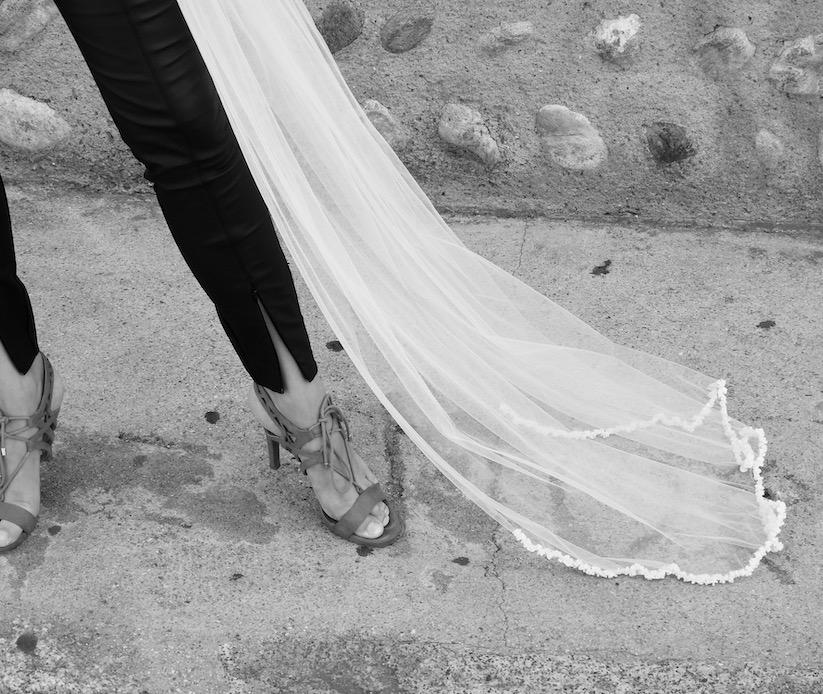 Voile de mariée sur-mesure